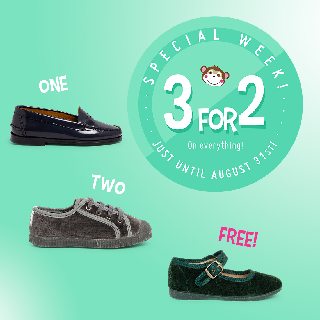 Pisamonas 3 for 2 offer is back!