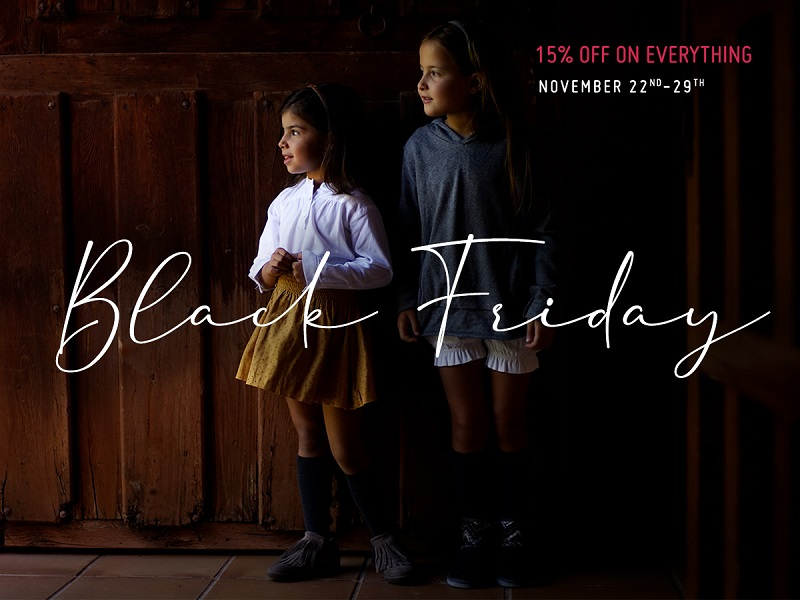 Black Friday 2020 at Pisamonas. Look no further for the best offers in children's footwear!