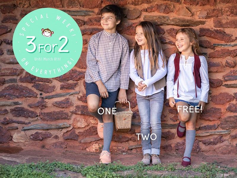 Pisamonas 3 for 2 offer is back!