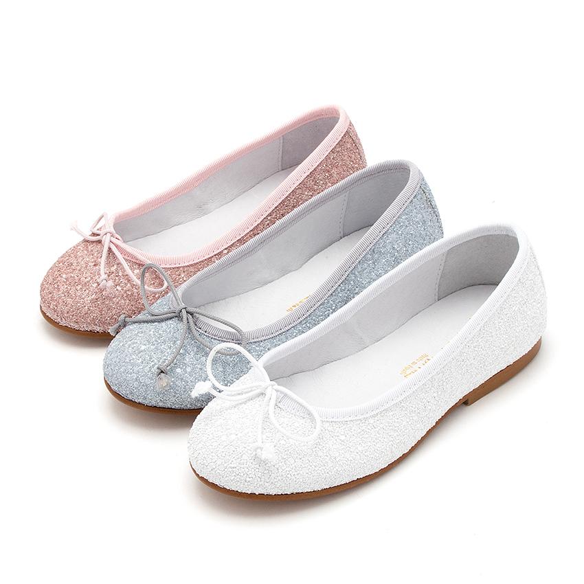 Girls \u0026 Womens Glitter Ballerina Shoes
