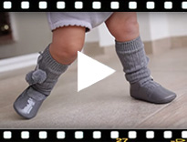 Video from Patent leather Mary Janes for babies with buckle