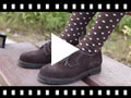Video from Suede Blucher shoes