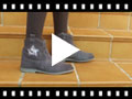 Video from Glitter Star Boots with zip
