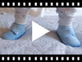 Video from Bootie Slippers with Little Stars