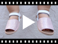 Video from Sparkly Baby Menorcan Sandals