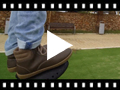 Video from Casual children's leather lace-up boots