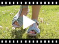 Video from Girls Flat Esparto Sandals