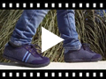 Video from Faux suede herringbone trainers two laces