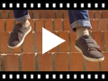 Video from Suede sneakers with Velcro for kids
