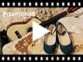 Video from Ballet Pumps Satin Bow Anklet Strap