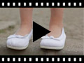Video from First Walkers Canvas Elasticated Ballet Pumps