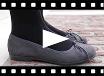 Video from Reptile Print Ballerinas for Girls & Women