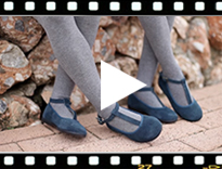 Video from Girls T-Bar Mary Jane Shoes