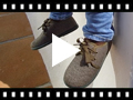 Video from Fabric Blucher Style Baby Shoes