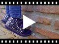 Video from First Steps Boots with Stars