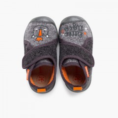 Biomecanics house slippers reinforced toe Grey