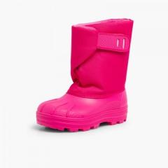 Winter Boot Fuchsia