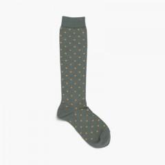 Condor polka dot high socks