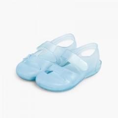 Beach & Pool Jelly Sandals Bondi Sky Blue