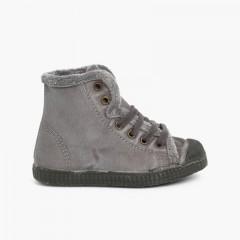 Yeti Boot Trainers Light Grey