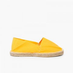 Slip-on Espadrilles for Kids and Adults (S9) Yellow