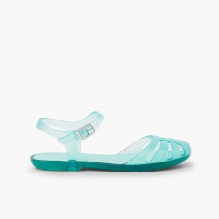 Girls Jelly Sandals Mara Mini Aquamarine