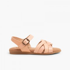 Sandals with Gel Insoles Blush pink