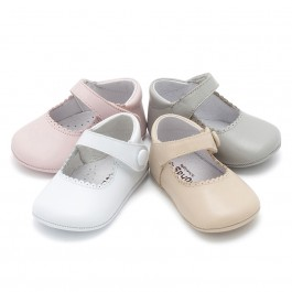 Soft Leather Baby Mary Janes