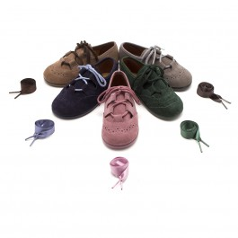 Kids Suede Oxford Shoes