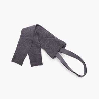 Kids leggings with elastic straps Gris Medio