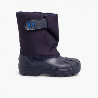 Winter Boot Navy Blue