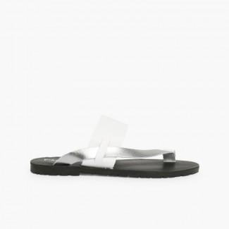 Metallic toe post sandal  3697dc47c