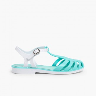 Laida Mini Girls' Rubber Jelly Sandals
