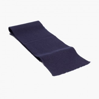CONDOR Ribbed Scarf Navy Blue