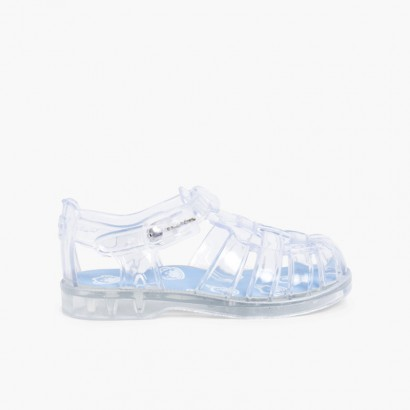 Pisamonas Jelly Shoes - Limited Edition White