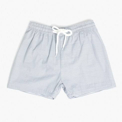 Boys Poplin Boxer  Green stripes
