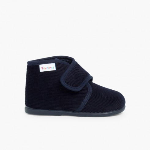 Corduroy Slippers Boots
