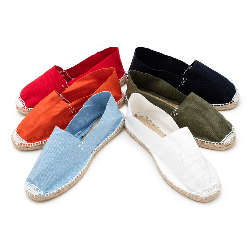 Slip-on Espadrilles for Kids and Adults (S9)