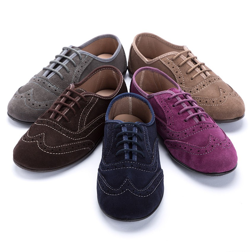 Girls Brogue Shoes