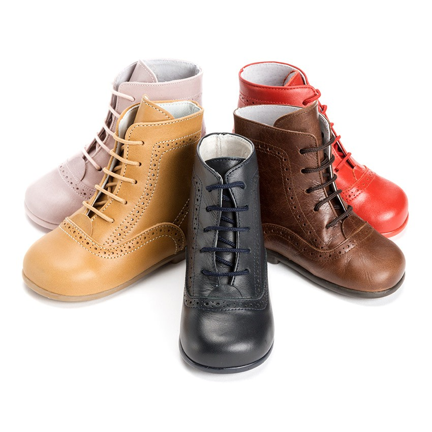 Leather Pascuala Boots