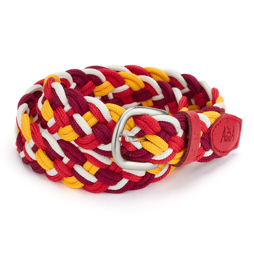 Multicolor Children´s plaited belt