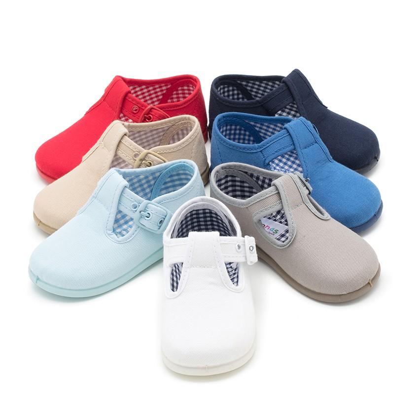T-Bar canvas shoes