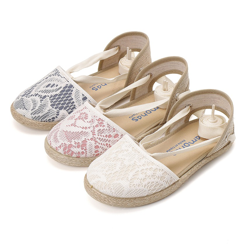 Girls Espadrilles Crochet