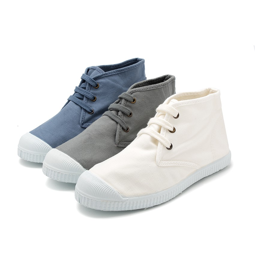Canvas High Top Trainers