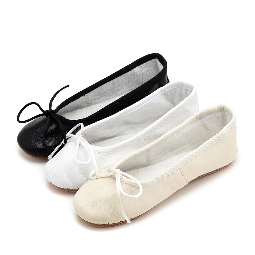 Girls & Womens Leather Ballerinas