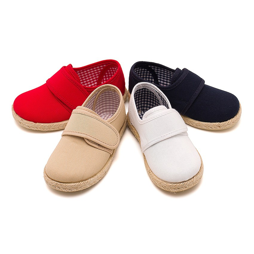 loop fasteners Blucher Shoes Espadrille Sole