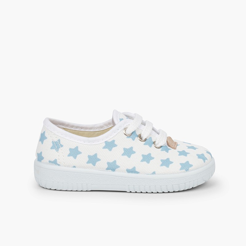 KIDS SNEAKERS CANVAS STARS