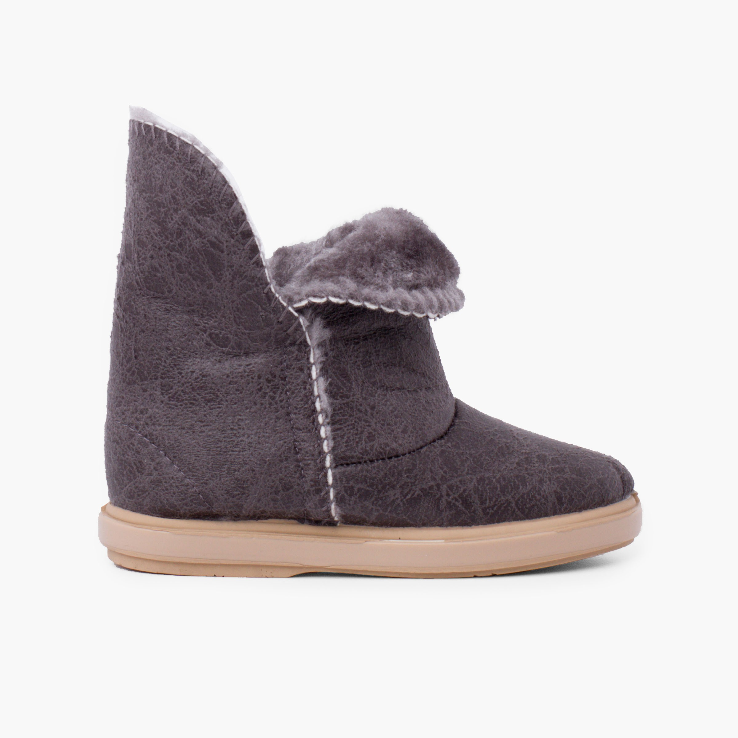 Australian style girl boots with side opening