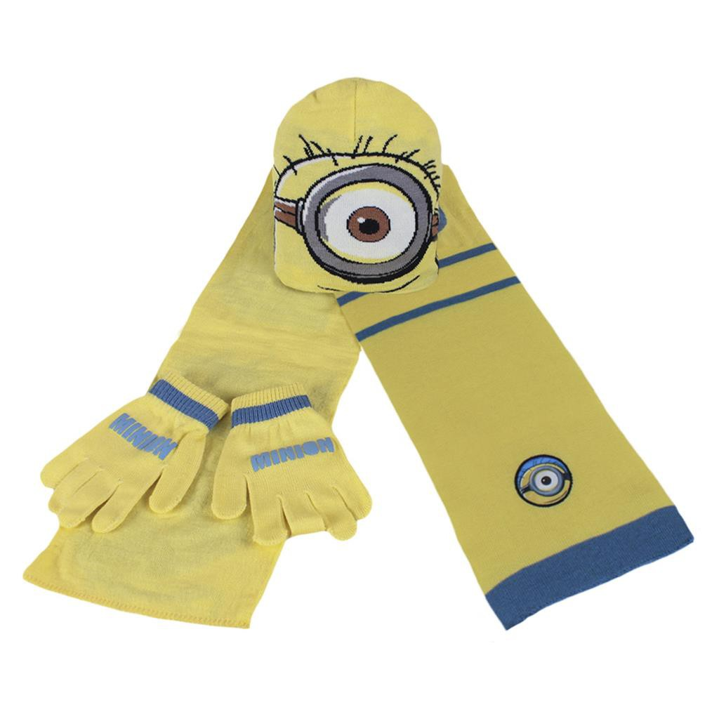Kids Disney Set: Beanie + Scarf + Gloves