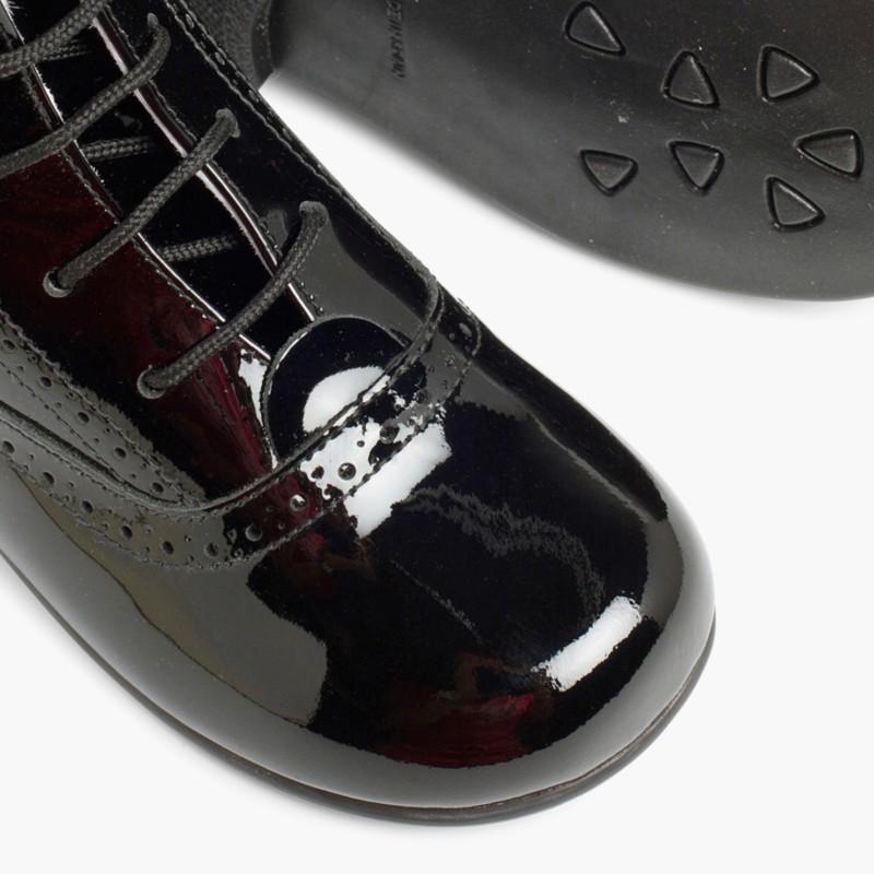 Patent Pascuala Boots Black